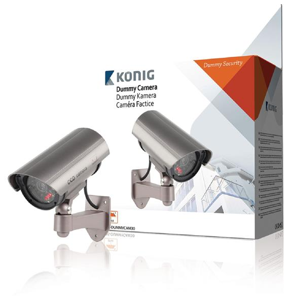 König Atrapa exteriérovej kamery s infračerveným LED svetlom