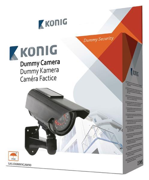 König Atrapa solárnej kamery s aktívnym infračerveným svetlom