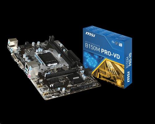 MSI B150M PRO-VD/Socket 1151/DDR4/USB3/DSUB/DVI///RTL8111H/mATX