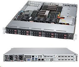 Supermicro Server SYS-1028R-WC1R 1U SP