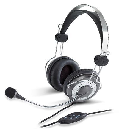 Genius slúchadla s mikrofónom HS-04SU s ovladanim hlasitosti