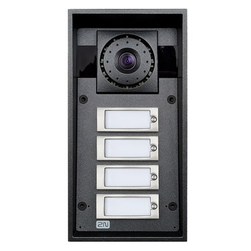 2N Helios IP Force - 4 tlačítka, HD kamera, 10W reproduktor