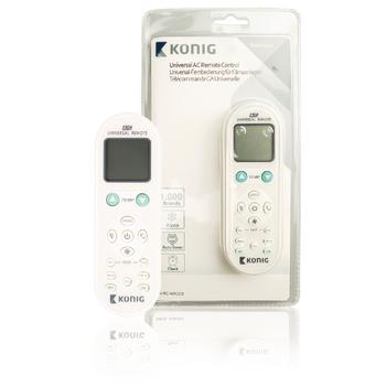 König Diaľkový ovládač na klimatizáciu 1000v1
