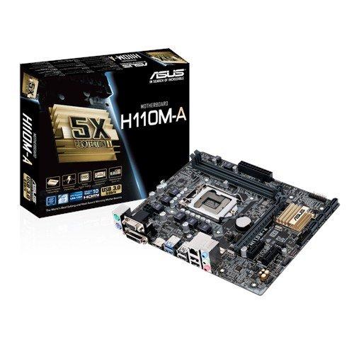 ASUS H110M-A/M.2 soc.1151 H110 DDR4 mATX 1xPCIe USB3 GL iG D-Sub DVI HDMI