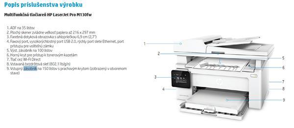 HP LaserJet Pro MFP M130a /Náhrada M125a/