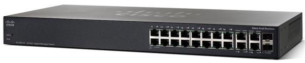 CISCO SG 300-20 20-port Gigabit Managed Switch