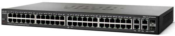 CISCO SF300-48 48-port 10/100 Managed Switch with Gigabit Uplinks