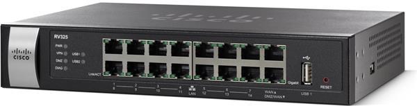 CISCO RV325 Dual Gigabit WAN VPN Router