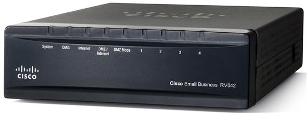 CISCO 10/100 4-Port VPN Router