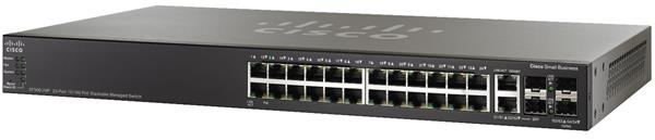 CISCO 24-port 10/100 POE Stackable Managed Switch w/Gig Uplinks