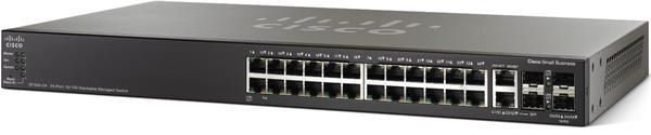CISCO 24-port 10/100 Stackable Managed Switch with Gigabit Uplinks