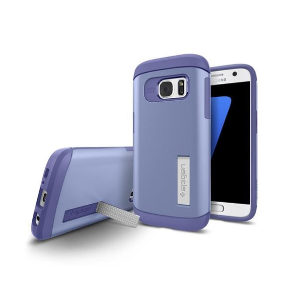 Spigen Slim Armor for Galaxy S7 Edge purple