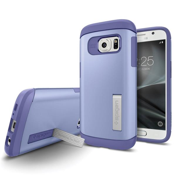 Spigen Slim Armor for Galaxy S7 purple