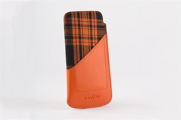 Savelli Enza orange Sony Xperia Z5, Z3, Z2,M4 aqua & Samsung Galaxy S5