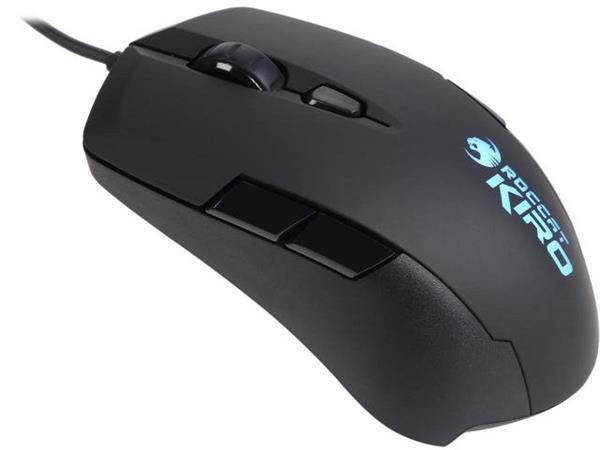 ROCCAT Kiro Modular Ambidextrous Gaming Mouse, black