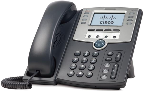 12 Line IP Phone With Display, PoE and PC Port