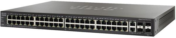 48-port 10/100 POE Stackable Managed Switch w/Gig Uplinks