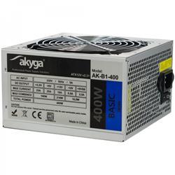 Akyga ATX Power Supply 400W Basic AK-B1-400 Fan12cm P4 3xSATA