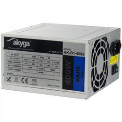 Akyga ATX Power Supply 400W Basic AK-B1-400S Fan8cm P4 2xSATA