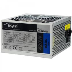 Akyga ATX Power Supply 420W Basic AK-B1-420 Fan12cm P4 3xSATA