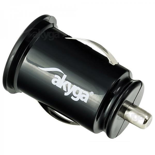 Akyga Car charger AK-CH-02 2100mA 2xUSB black