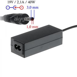 Akyga Notebook power supply Dedicated AK-ND-22 19V/2.1A 40W 3.0x1.0 mm SAMSUNG