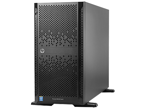 HP ProLiant ML350 G9 E5-2620v4 1x16GB 2x300GB P440ar/2FBWC 8SFF DVDRW 500W Tower 3-3-3