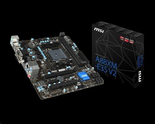 MSI A88XM-E35 V2/FM2+/AMD A88/DDR3/DVI/VGA