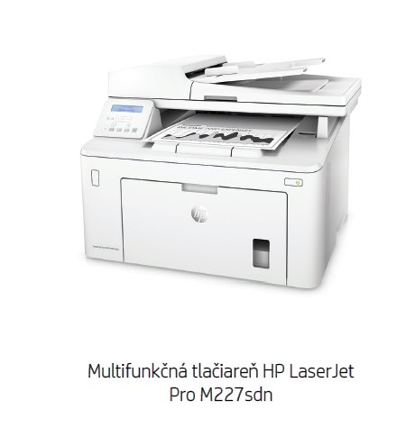 HP LaserJet Pro MFP M227sdn /náhrada M225/