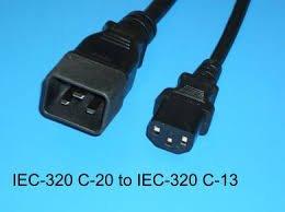Lenovo 2.8m, 10A/100-250V, C13 to IEC 320-C20 Rack Power Cable