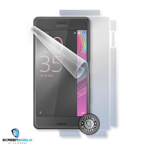 ScreenShield Sony Xperia X F5121 - Film for display + body protection