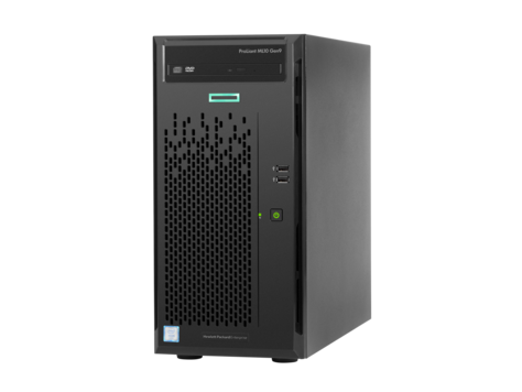 HP ProLiant ML10 G9 E3-1225v5 1x8GB 2x1TB RST 4LFF NHP DVDRW 300W Tower