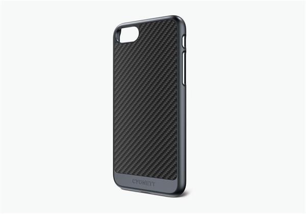 Cygnett, obal UrbanShield Carbon Fiber pre iPhone 7/8, karbónové vlákna, čierny