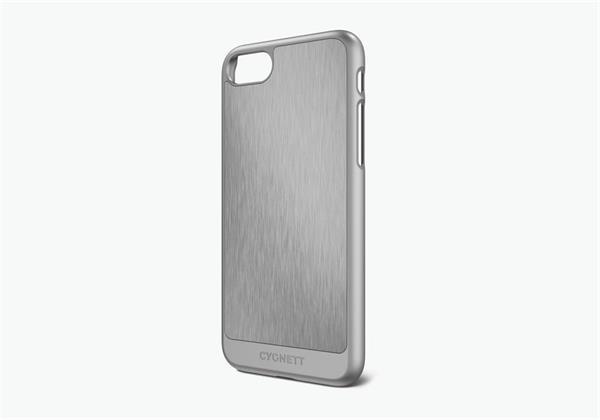 Cygnett, obal UrbanShield Aluminium pre iPhone 7/8, hliník, strieborný