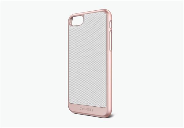 Cygnett, obal UrbanShield Rose Gold pre iPhone 7/8, hliník, ružovo-zlatý