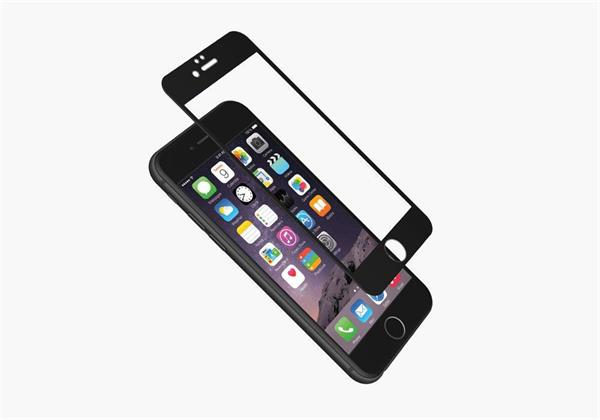 Cygnett 3D Temperované sklo 9H RealCurve pre iPhone 7, na celý displej a okraje, priehľadný/čierny