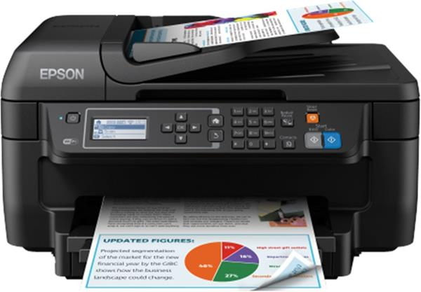Epson WorkForce WF-2750DWF, A4, All-in-One, ADF, duplex, Fax, WiFi + cierny atrament XL