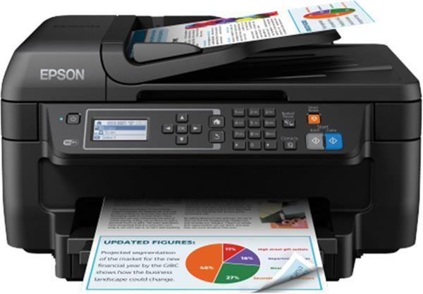 Epson WorkForce WF-2750DWF, A4, All-in-One, ADF, duplex, Fax, WiFi