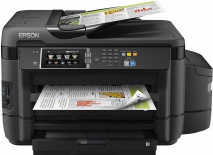 Epson L1455, A3, color All-in- One, Fax, ADF, USB, LAN, WiFi, iPrint, duplex + 100ks fotopapier 10x15