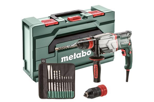 Metabo UHE 2660-2 Quick, 800-Wattové Multikladivo so sadou vrtákov a sekáčov