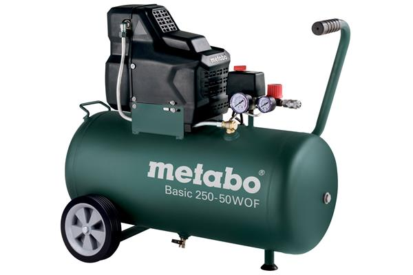 Metabo Basic 250-50 W OF Bezolejový kompresor 50 l nádrž
