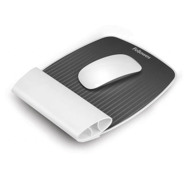 Fellowes I-Spire Series podložka pod myš so silikónovou opierkou zápästia, biela