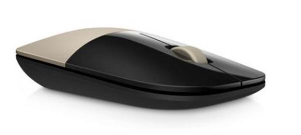 HP Z3700 Wireless Mouse - Gold