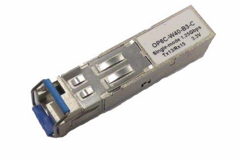 OEM Mini-GBIC modul (SFP), 1000Base-BX10, WDM singlemode do 3km, LC, Tx 1550,Rx 1310, HP comp.