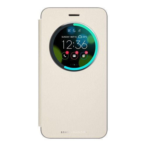 ASUS ochranné púzdro VIEW FLIP COVER pre ZenFone 3 zlaté ( ZE520KL)