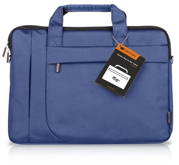 Canyon CNE-CB5BL3, štíhla taška na notebook do veľkosti 16