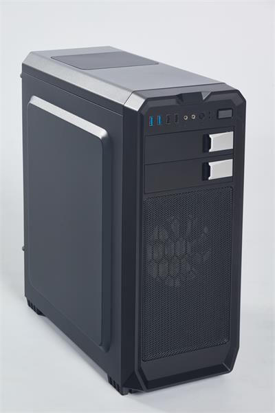 Eurocase ML X807 ATX, 2x USB 3.0, 2x USB 2.0, čierna, bez zdroja