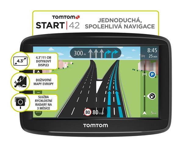 TomTom Start 42 EU45, Lifetime