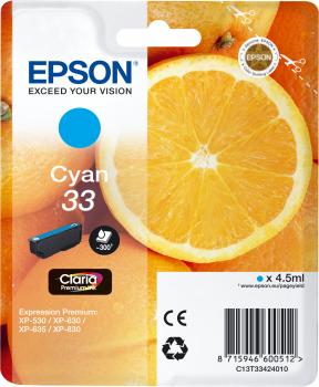 Epson atrament XP-630 cyan L