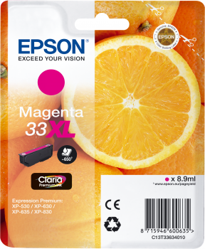 Epson atrament XP-630/900 magenta XL